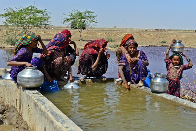Raccolta dell'acqua fotografia stock libera da diritti