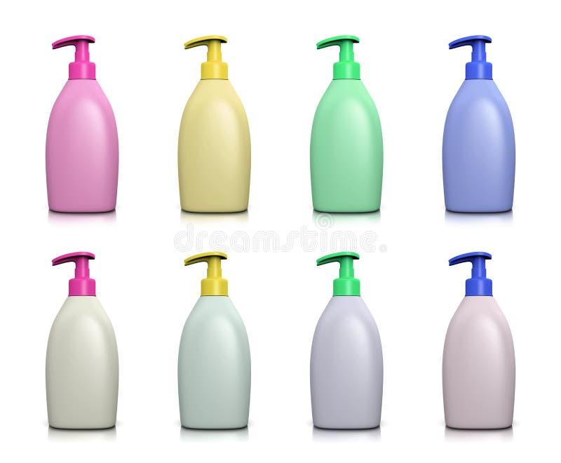 Raccolta dell'erogatore del sapone liquido royalty illustrazione gratis