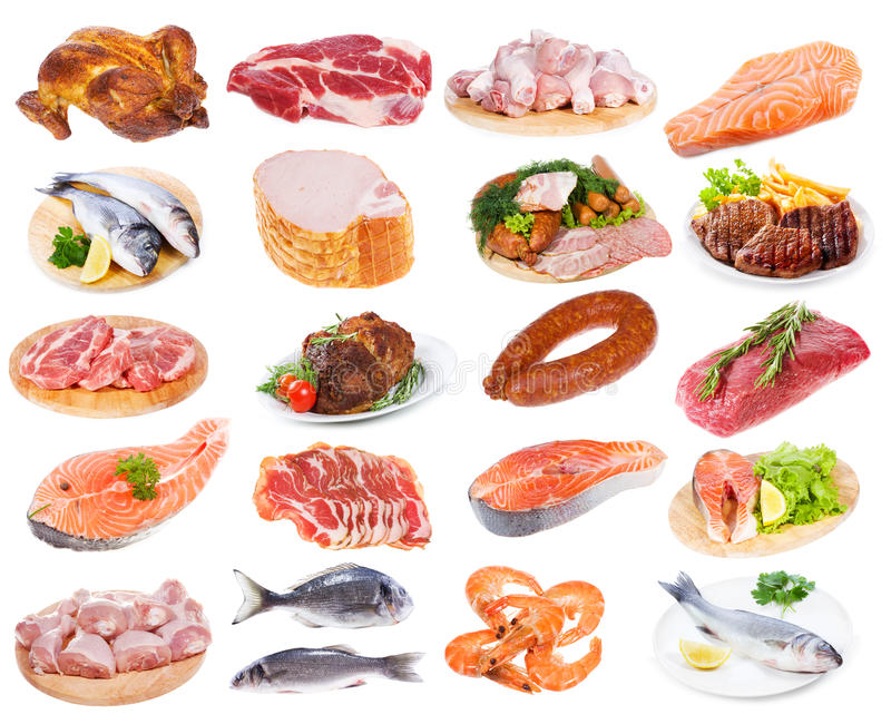 Raccolta della carne fotografia stock libera da diritti