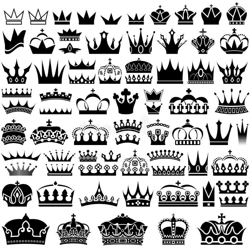 Raccolta della corona illustrazione vettoriale