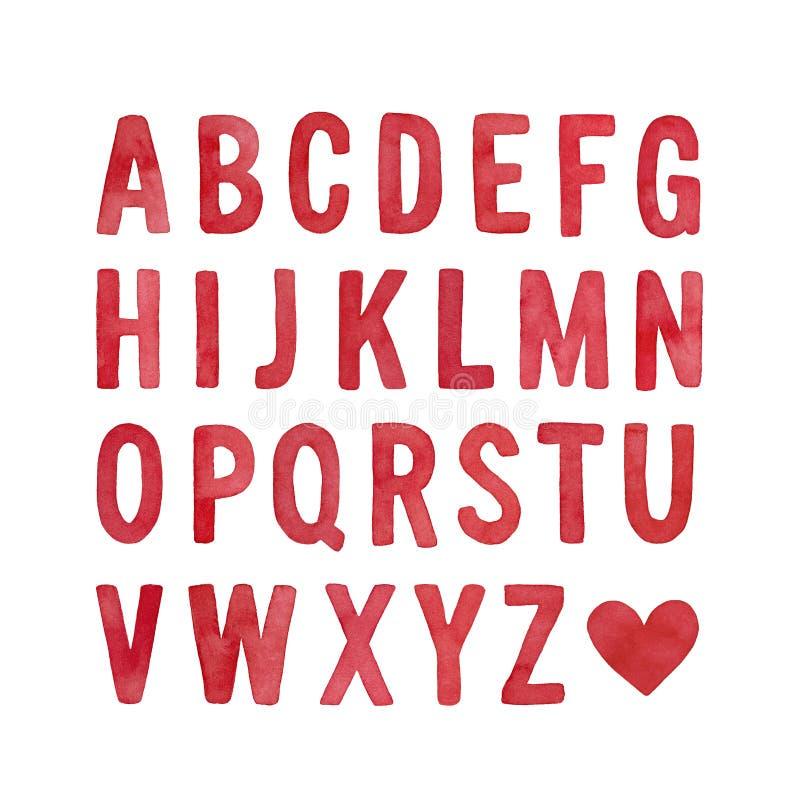 Raccolta della lettera maiuscola di alfabeto inglese royalty illustrazione gratis