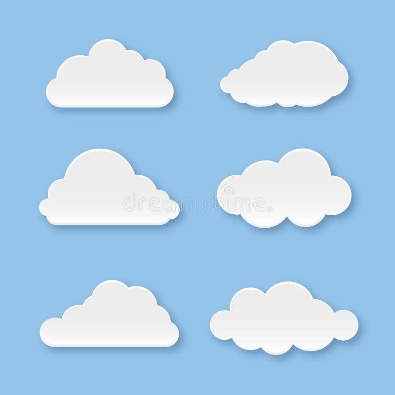 Raccolta della nuvola immagine stock libera da diritti