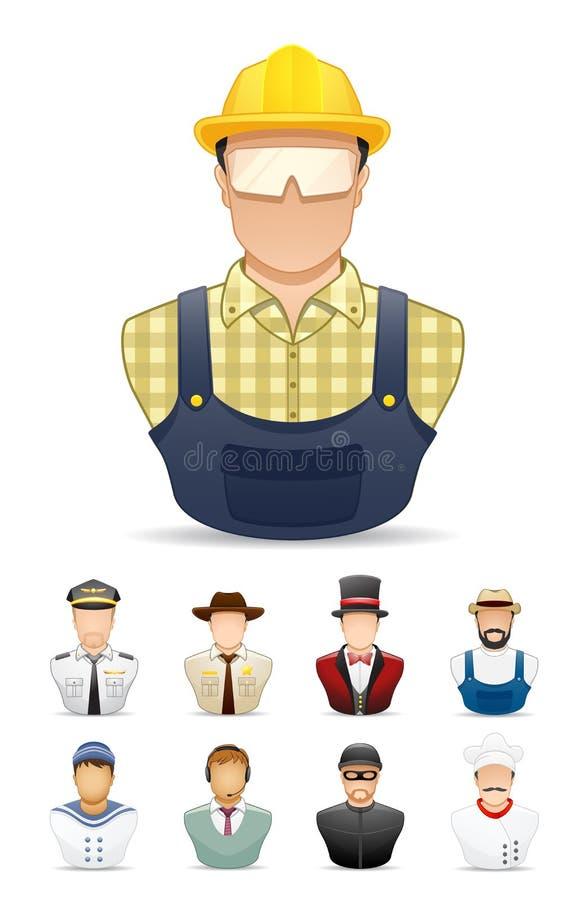 Icona della gente di occupazione # 1 royalty illustrazione gratis