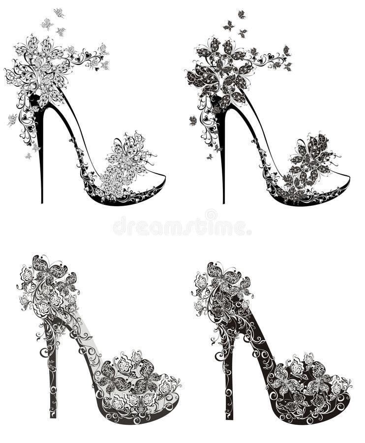 Raccolta delle scarpe dei tacchi alti di modo for Modo 10 prezzi