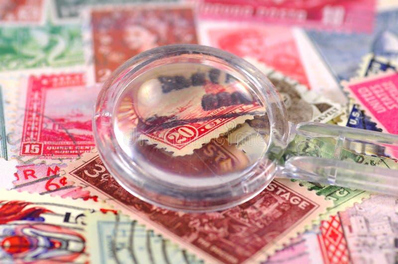 Raccolta di francobolli 3 immagini stock libere da diritti