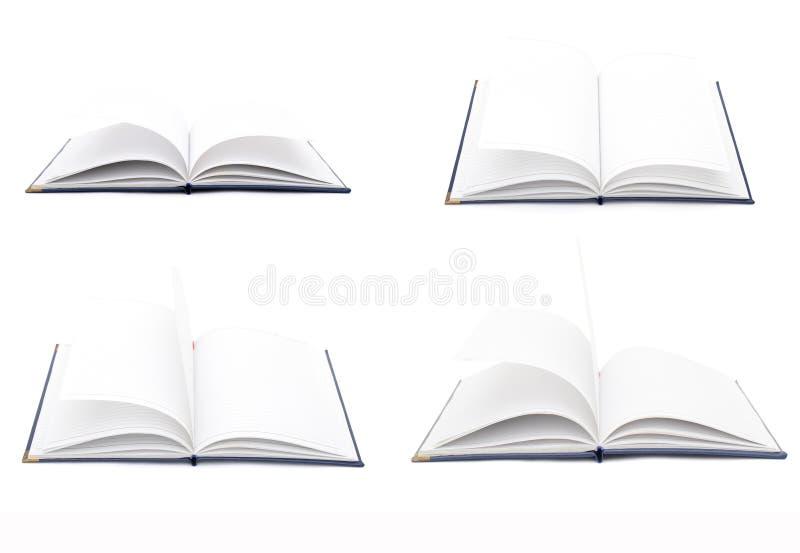 Raccolta di libri di scrittura fotografia stock