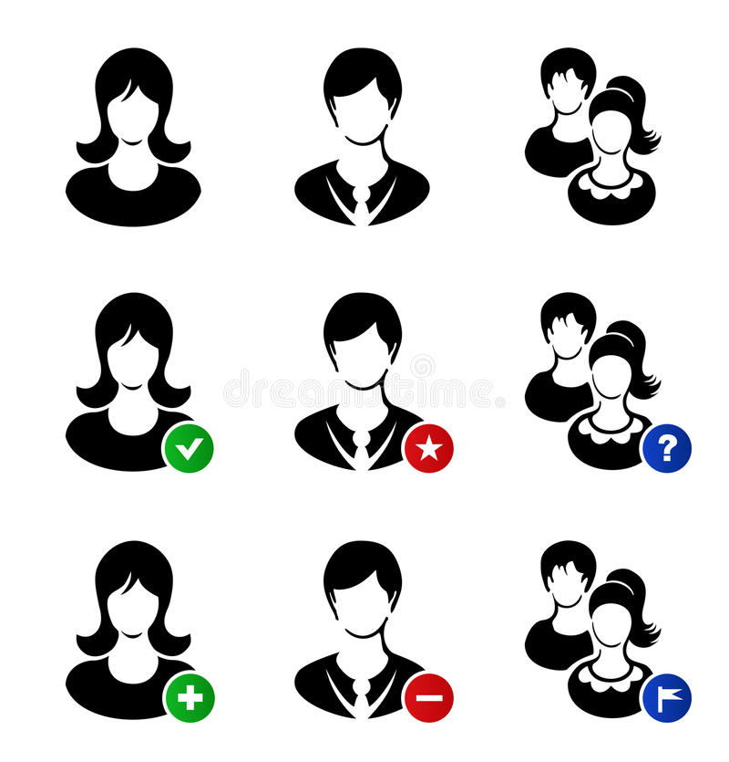 Raccolta di vettore delle icone di web Metta con simbolico royalty illustrazione gratis