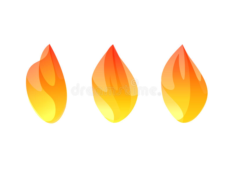 Download Raccolta Stabilita Di Simbolo Di Progettazione Dell'illustrazione Di Vettore Dell'icona Del Fuoco Illustrazione Vettoriale - Illustrazione di vettore, caldo: 55362930