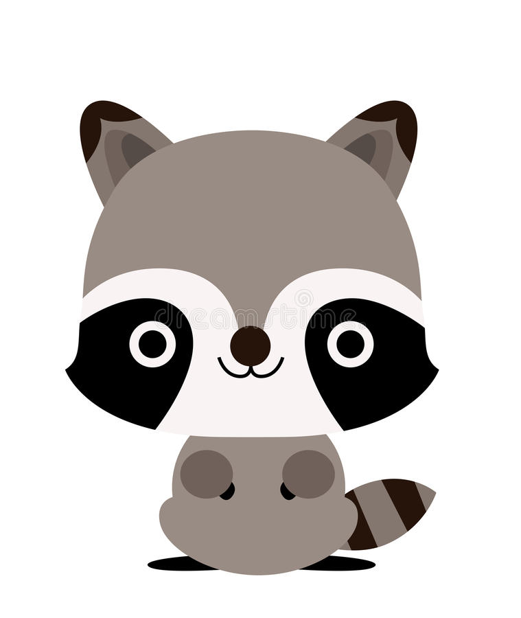 raccoon illustrazione di stock