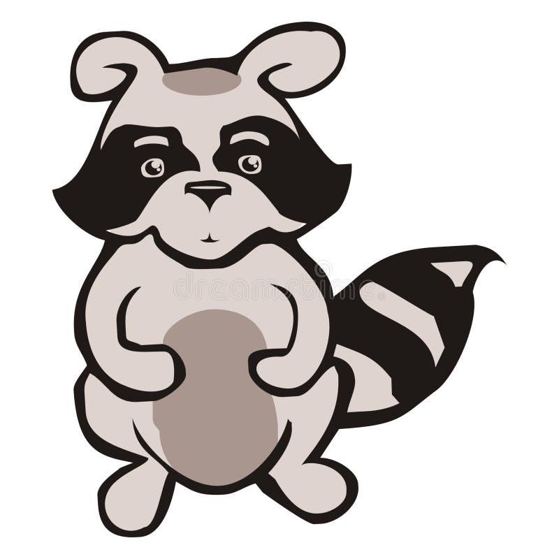 raccoon стоковое изображение