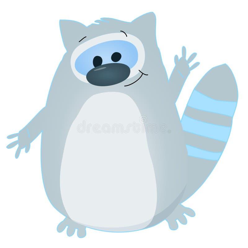 Raccoon Cartoon Royalty Free Stock Images
