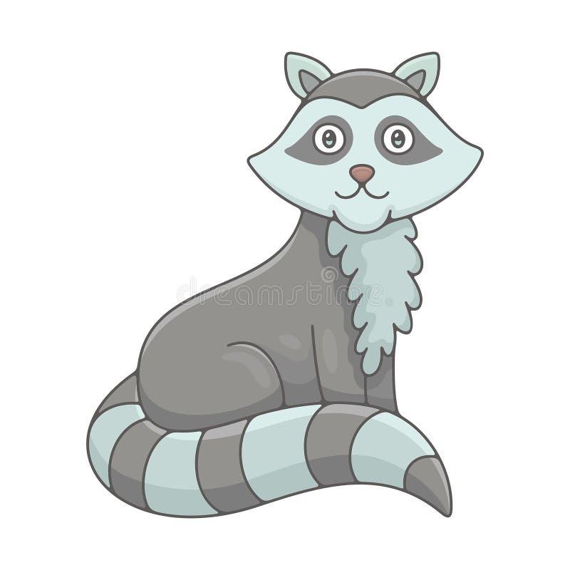 raccoon ilustracja wektor