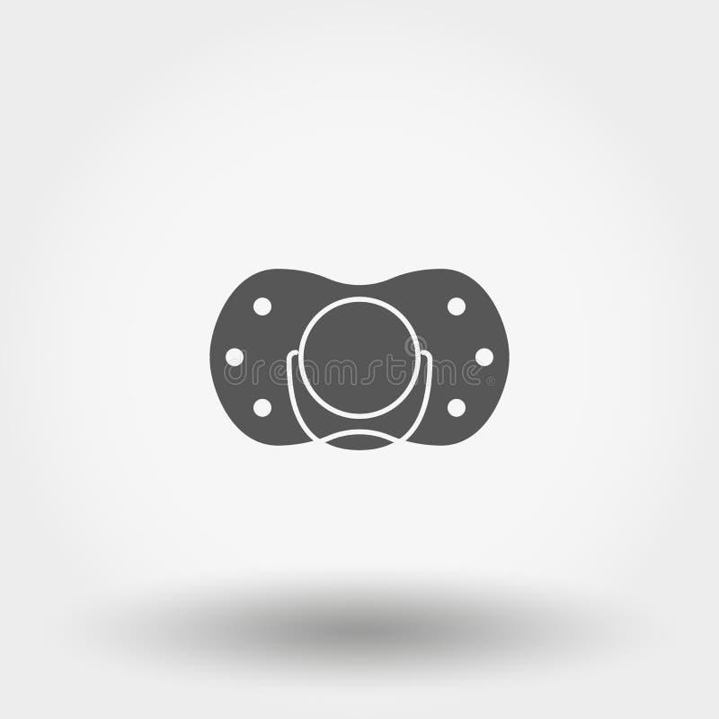 raccord graphisme Vecteur Silhouette Style plat de conception illustration stock