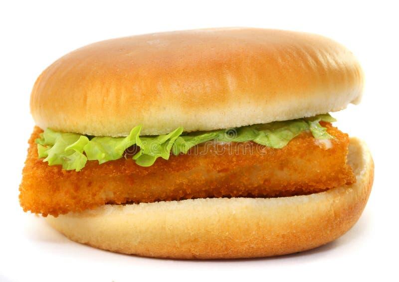 Raccordo del panino del pesce fotografie stock libere da diritti
