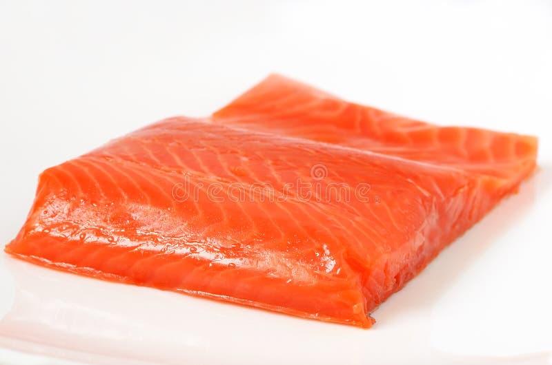 Raccordo di color salmone salato fotografie stock libere da diritti