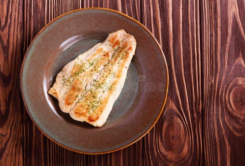 Raccordo fritto del pesce della carpa di smargiasso immagine stock libera da diritti