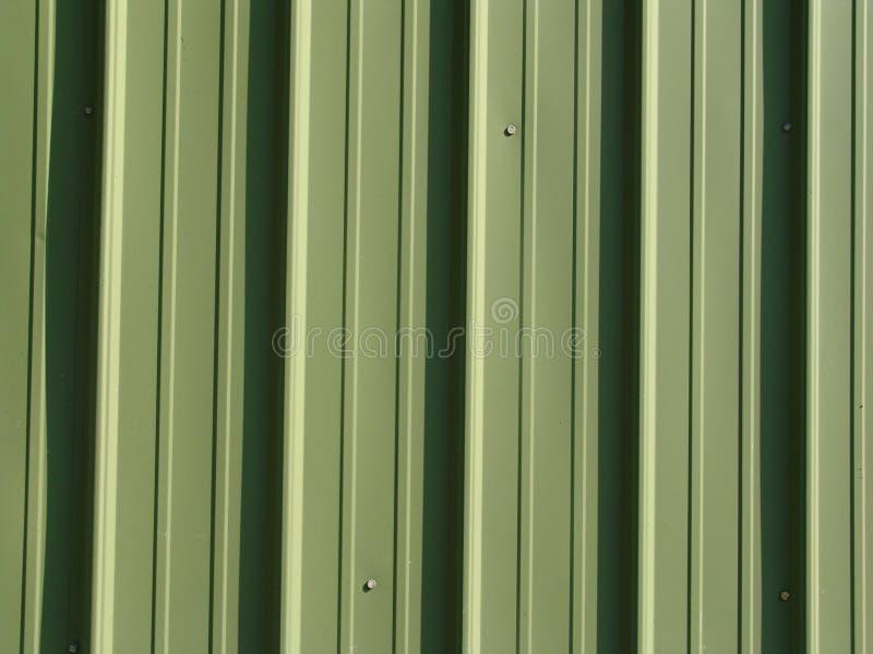 Raccordo verde del metallo fotografia stock