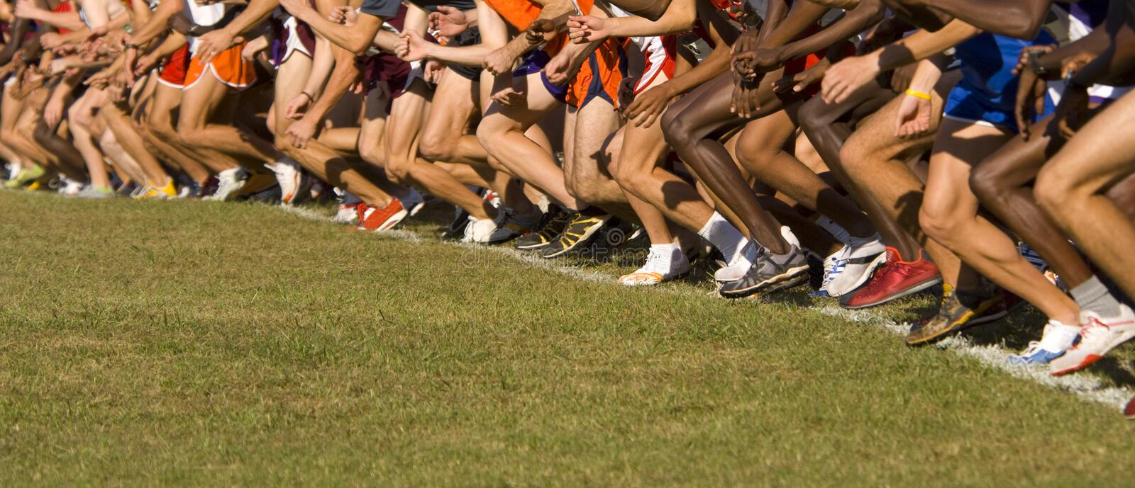 Race! stock images