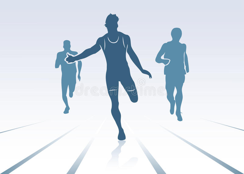 Download Race background stock vector. Image of distance, running - 26920146