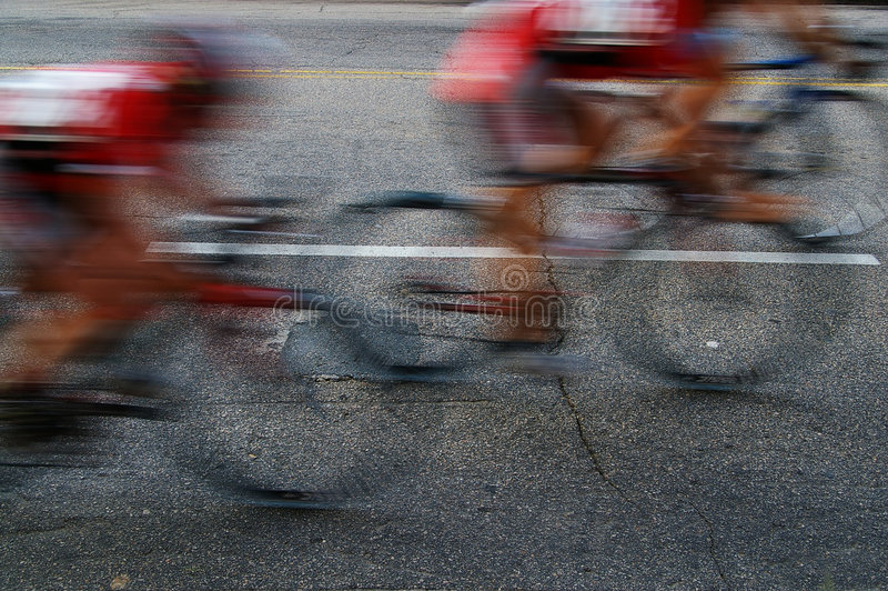 Race blur royalty free stock images