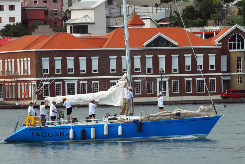 Race Boat Grenada Sailing Festival