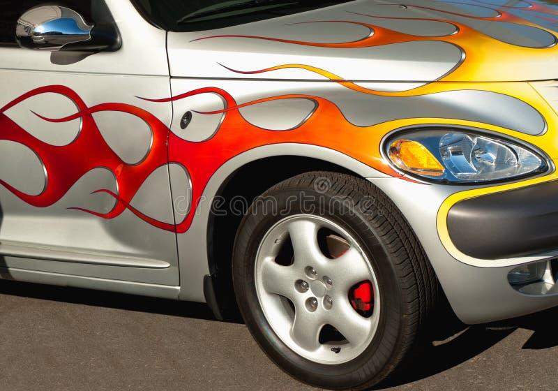 Race car close-up