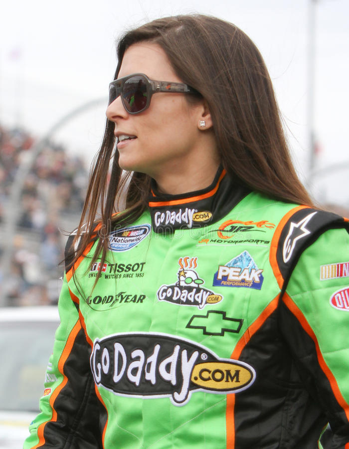 Race Car Driver Danica Patrick stock photos
