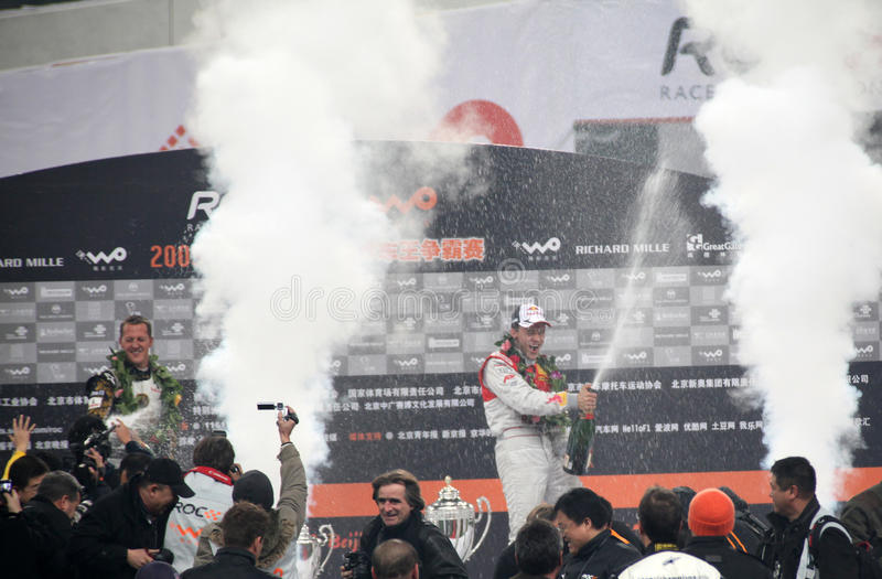 Race of Champions 2009 royalty free stock image