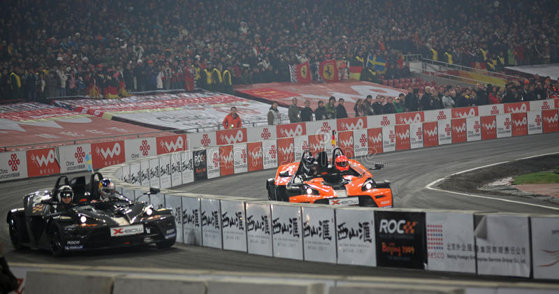 Download Race Of Champions 2009 - Final Editorial Stock Image - Image of mattias, circuit: 11675179
