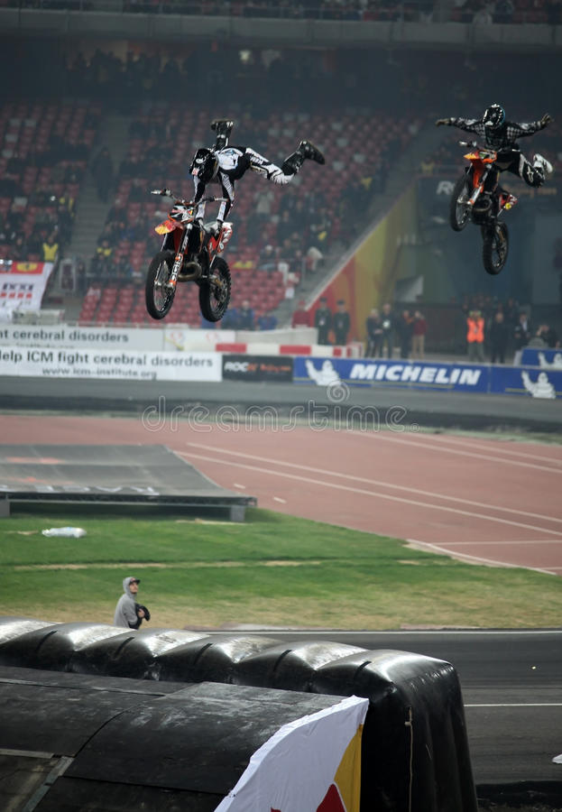 Race of Champions Beijing 2009 royalty free stock photo