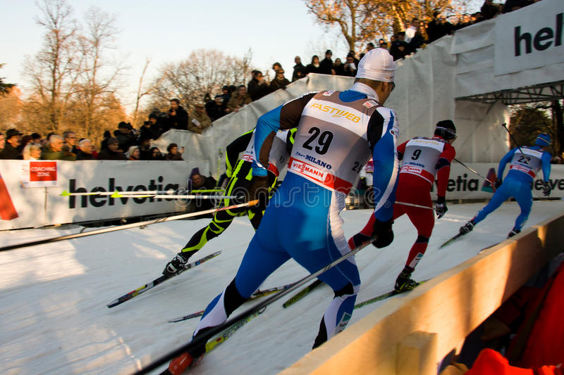 Download Race In The City, FIS Cross-Country World Cup Editorial Stock Image - Image: 22842389