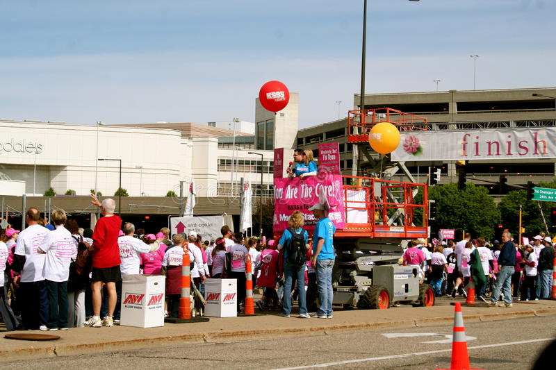 Download Race For The Cure 2010 Susan G. Komen Editorial Photo - Image: 14219241