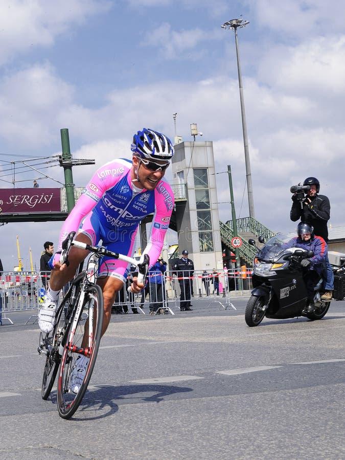 RACE DE ROUTE DE BICYCLETTE images stock
