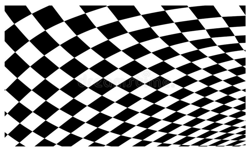 Race flag Design Background vector template illustration royalty free stock photography