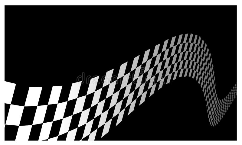 Race flag Design Background vector template illustration royalty free stock photos