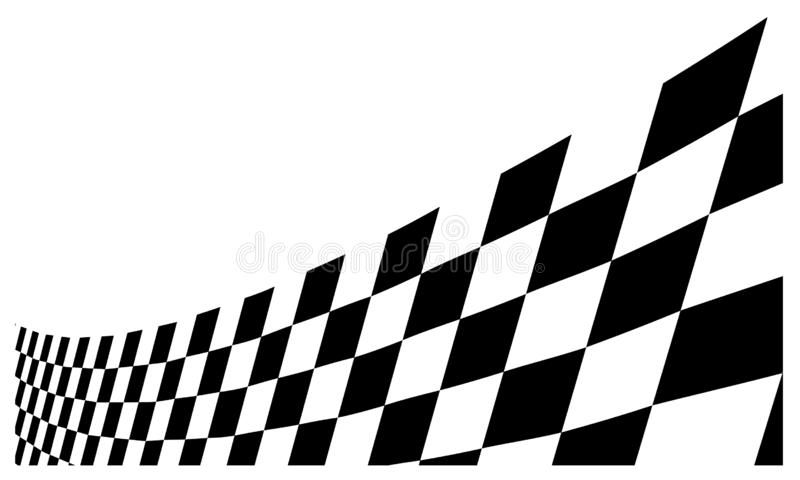 Race flag Design Background vector template illustration royalty free stock photo