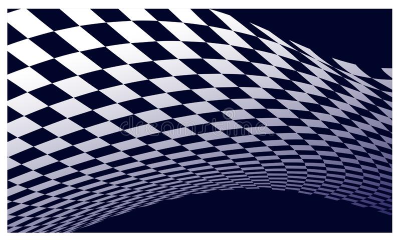 Race flag Design Background vector template illustration stock photography