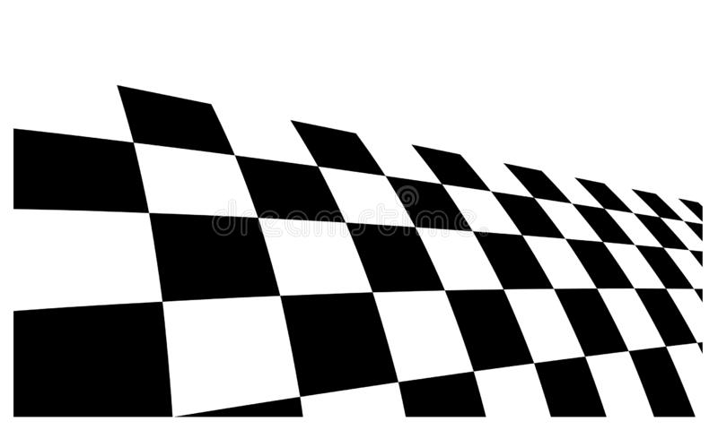 Race flag Design Background vector template illustration royalty free stock images