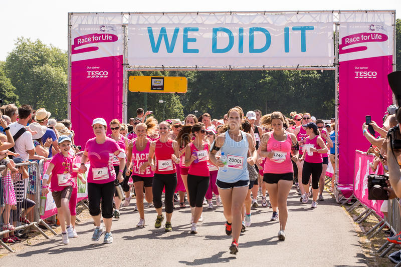 Download Race for Life editorial image. Image of fitness, ladies - 32267355