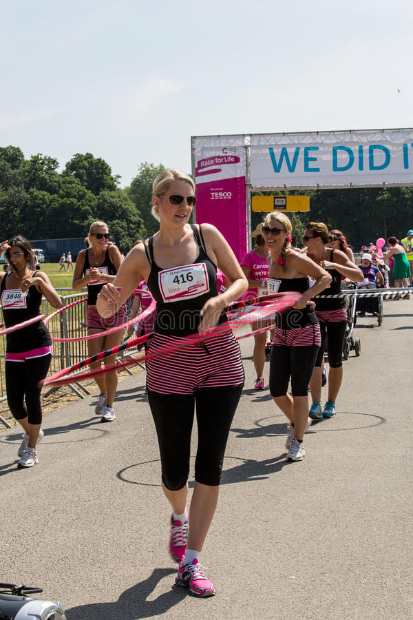 Race For Life Editorial Photo