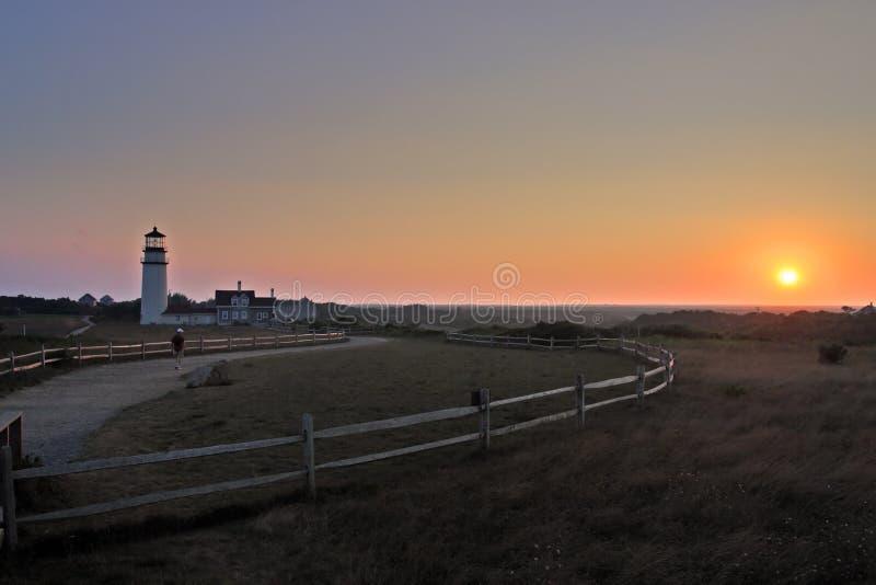 Race Point Light, Cape Cod, Massachusetts, USA. Race Point Light is a historic lighthouse on Cape Cod, Massachusetts stock photos