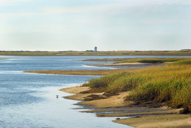 Race Point Lighthouse royalty free stock photos