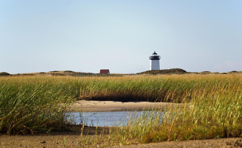 Race Point Lighthouse royalty free stock photo