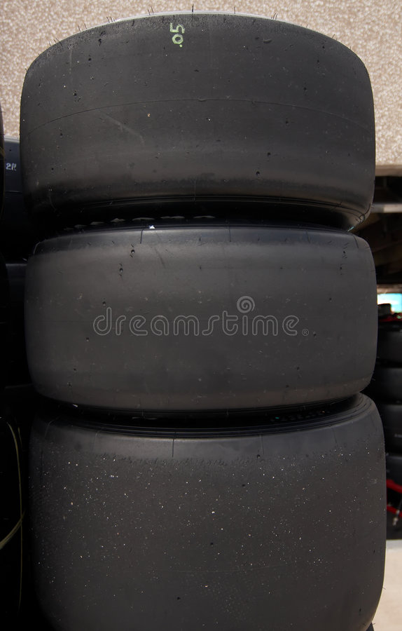 Race Tires royalty free stock image