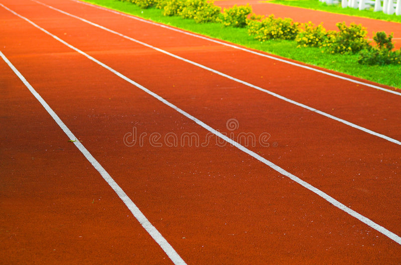 Download Race track stock image. Image of contest, hurdle, lanes - 1314291