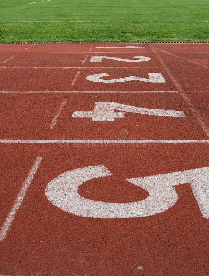 Download Race track stock photo. Image of numbers, athletics, track - 5003538
