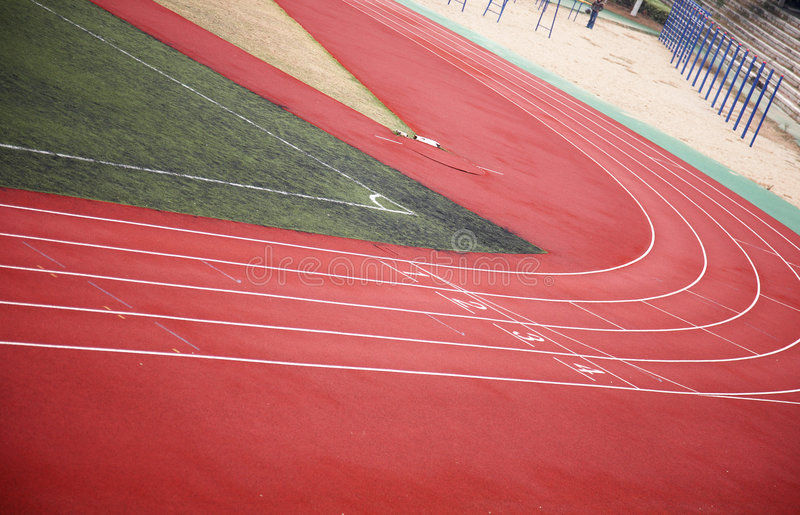 race track στοκ φωτογραφία