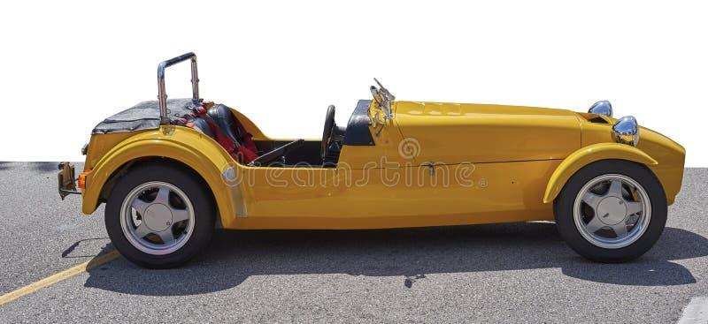 Race vintage car stock photography