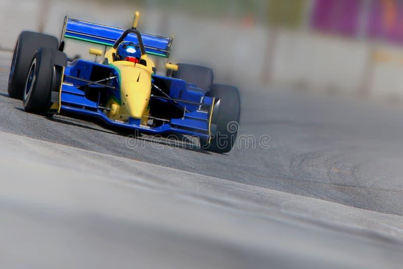 Raceauto stock foto's