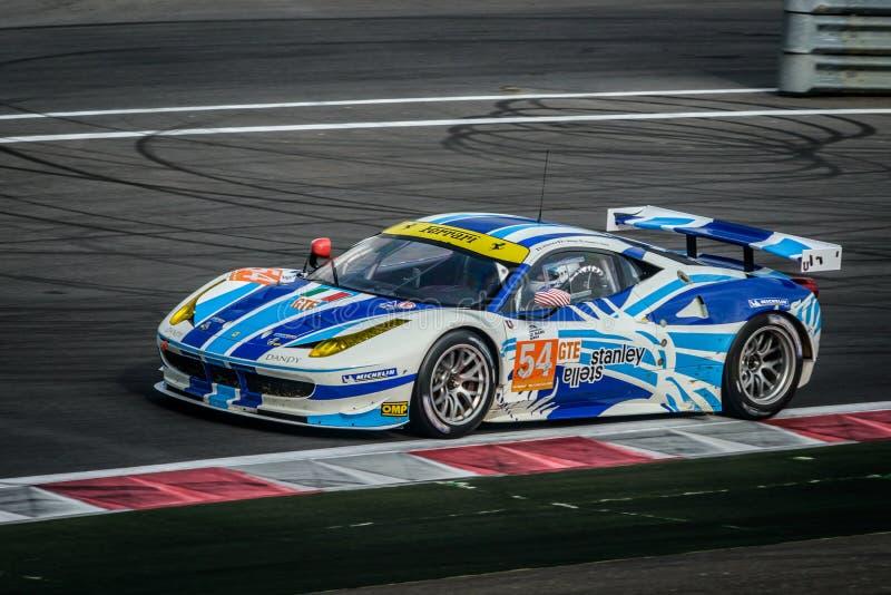 Raceauto royalty-vrije stock foto's